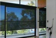 Black on the Window / The bold elegance of using black custom window coverings in your decor.