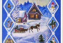 PERGAMANO NOEL / Pergamano thème Noël, réalisations