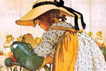 JARDINAGE images / Illustrations thème: jardinage