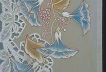PERGAMANO FLEURS / Cartes fleuries réalisées en Pergamano