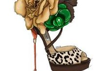 CHAUSSURES illustrations / Shoes