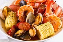 Taste Of The Sea: Shrimp, Lobster, Clams, Fish Recipes / Shrimp, Fish, Lobster and Clams make wonderful recipes. Enjoy a feast from the sea.  / by Bonnie Burns