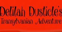 Delilah Dusticle's Transylvanian Adventure (Book Two) / Delilah Dusticle is back with an action packed mission. In this illustrated instalment, Delilah and the Dustbusters are invited to Transylvania, to cater for the Hallow Eve Ball. All is not what it seems and Count Dracula has a very unusual request. Get ready to join the fun and experience the magic!