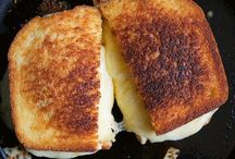 Grilled Cheese Please! / Nothing but gooey, cheesey , over the top grilled cheese sandwiches. Comfort food for all.