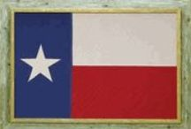 Texas Vintage Flags / Texas Vintage Flags created by Texas Artist George Zoes.  We have several style frames available.  Great for home, office, graduation gifts www.twelvegauge.com