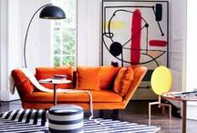 Living room design ideas / Embracing everything from bold colour and busy pattern to chic monochrome and calm plains – here are Livingetc's best ideas for modern living rooms.