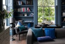 Dark.shades.etc / Black, navy, grey…. Dark, moody shades for the chicest of spaces