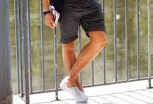 Bermuda Shorts, Bucket Hats and Sliders - S/S'15 / Take a look at some of the top menswear trends this summer including Bermuda Shorts, Bucket Hats and Sliders.
