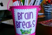 Classroom Brain Breaks / Physical Activity is shown to improve cognitive performance and social behavior.  Use these Brain Breaks to help students in your classroom!