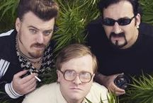 Ricky, Julian and Bubbles / Pins of your favourite drunk, high and unemployed Canadians
