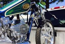 Gang Star / Gang Star ....Still under construction.... No paint for Michael Licther Naked Thruth Exbit in Sturgis 2015