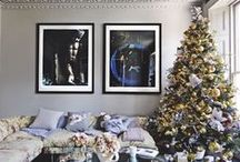 Modern Christmas ideas / Have a VERY cool yule with these festive decorating ideas and modern styling tips. They are all pretty easy to achieve but pack serious punch in terms of wow factor. Christmas has never looked so good.