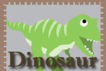 Dinosaur play / Dino crafts and stuff