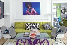 Pimp your rental property / There are myriad of ways you can decorate a rented property to make it reflect your personality and feel like home – paint and wallpaper aren't everything! Be inspired by our beautiful ideas, from boldly coloured furniture to cool curtains.