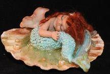 Mes BÉBÉS FIMO (pâte polymère) / BABY DOLLS-BEBES Sculptures réalisées sans aucun moule en pâte polymère  Babies-ooak polymer clay Fimo
