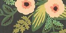 Flores...flores...flores / Flores  hechas con distintos materiales. Dibujadas- Pintadas-Tejidas