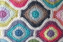 Motivos crochet / Motivos cuadrados, circulares y otros