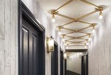 Hospitality Lighting We Love: All About Corridors / #interiordesign #hospitalitydesign #hotels #hoteldesign #decor #publicspace #travel #hospitality #luxe #luxury #lobby #ballroom #prefunction #corridors #meetingrooms