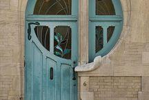 Porte finestre colori  idee emozioni / Inspirazioni