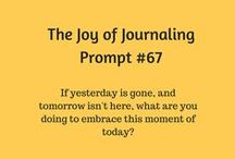 Journal Prompts for You / Prompts and a cool few things I find that other people are doing.
