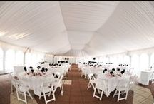 UMC SOUTH TERRACE TENT / by UMC Events Planning & Catering