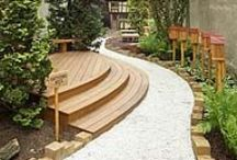 Along the Garden Path / WALK THIS WAY! Amazingly creative and intricate paths that are works of art.
