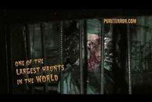 Pure Terror Scream Park Promo Videos