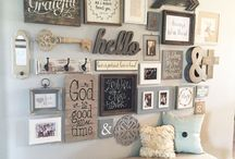 365 Days of Gallery Walls / Gallery wall ideas