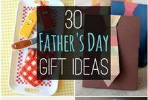 Día del padre / Ideas para celebrar al rey de la casa