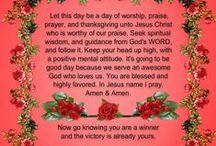 Prayers / Christian