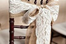 Wedding Ceremony Aisle and Chair Decoration Ideas. from Weddings Words & Wishes Celebrant in France / Lovely ideas for decorating your guest seating and aisle for your outdoor wedding in France.