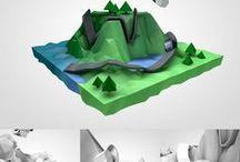 Poligonal 3D Model