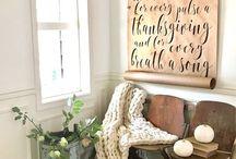 365 Days of Farmhouse / Modern rustic farmhouse interior design and decor