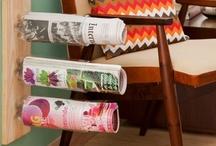 Coisas Simples / Simple Tips / Aproveitar espaços, reaproveitar materiais e decorar com estilo pode ser muito fácil! Simplicidade pode ser o que falta na sua casa! Veja algumas dicas e saiba como decorar e organizar com materiais simples!