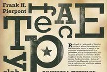 GRAFIK: Typografik Design & Layout / It's about lettering style and arrangement. / by Sue Jasper