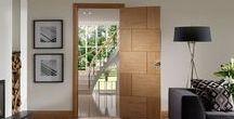 Internal Doors #internaldoors / Internal wooden doors - lifestyle pictures. More interior doors at: https://www.modern-doors.co.uk/internal-doors.html