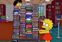 Els Simpsons a la biblioteca / El creador dels Simpsons té un trauma amb les biblioteques.