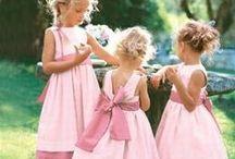Damas y Flower Girl / Damas y niños de arras