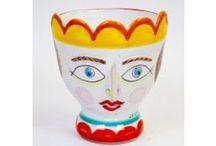 Sicilian vases, head vases and so on / Vasi siciliani e altro