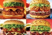 Burger Bonanza / Your imagination has no limits when building these awesome burgers.