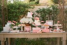 - Sweet tables -