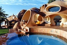 """""""Funky Architecture!"""" / """"Architecture should speak of its time and place, but yearn for timelessness."""" Frank Gehry"""