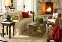 Living & Family Room / Ideas for the Living Room and Family Room