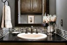 Bathroom / Ideas for the Main and Master Bedroom / by Home Sweet Home