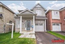 """""""Charming Detached 4 Bedroom Family Home"""" / Beautiful 4 bedroom home situated on a quiet, family-friendly street in the heart of Ajax. Only two years new, this stunning gem sits on a premium lot & shows like a model suite!"""