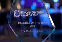 Awards / The Berkeley Clinic is one of the most award winning dental centres in the United Kingdom.
