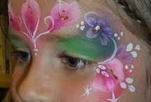 Mooie facepaints! / Face paints die ik mooi vindt! En om zelf een keer te proberen,