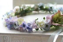 Couronnes a fleurs
