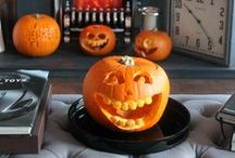 Halloween / Pumpkin carving at the Berkeley Clinic in Glasgow.