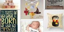 Maternity And Baby / Different ways to celebrate your pregnancy and baby that are inspired by Harry Potter and his magical world!